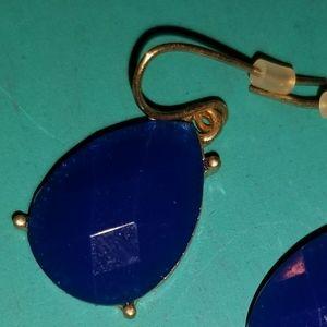 Blue Teardrop Earrings NEW
